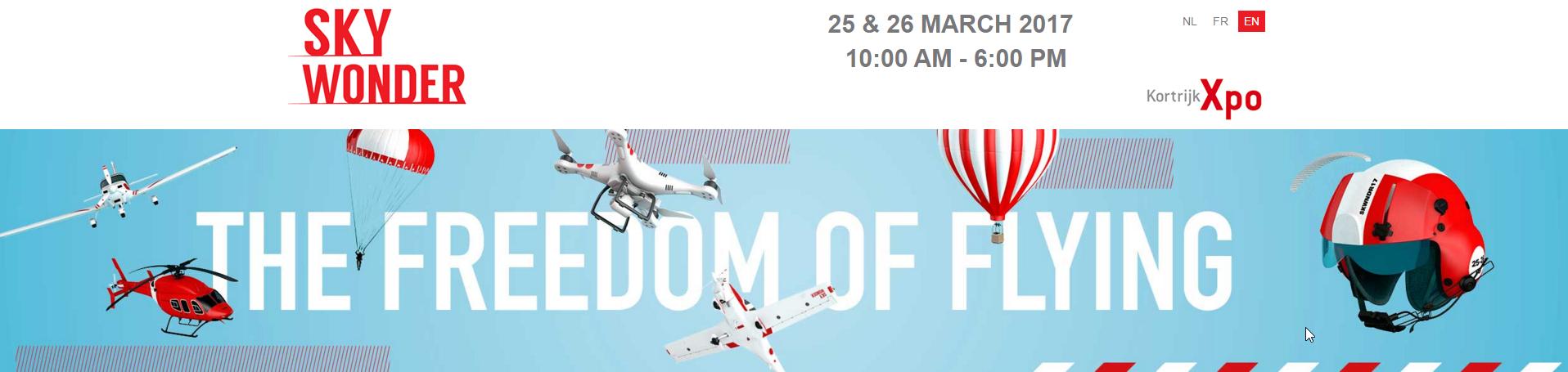 Skywonder 2017, Kortrijk Expo